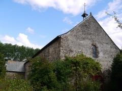 Chapelle Notre-Dame de Pritz - Français:   La façade.
