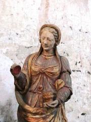 Chapelle Notre-Dame de Pritz - Français:   terre cuite 18ème