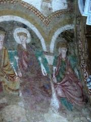 Chapelle Notre-Dame de Pritz - Français:   fresques du chœur premier quart du 12ème siècle