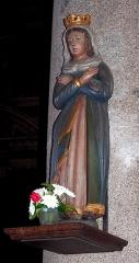 Eglise Notre-Dame des Cordeliers - Français:   Laval (Pays de la Loire, France). Statue de la Vierge, dans l\'église Notre-Dame des Cordeliers.
