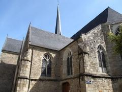 Eglise Saint-Vénérand - English: Saint-Vénérand Laval, Laval, Mayenne, France.