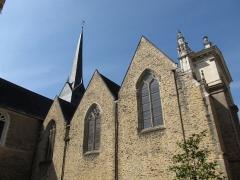 Eglise Saint-Vénérand - English: Saint-Vénérand, Laval, Mayenne, France.
