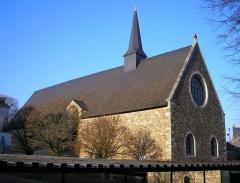 Chapelle des Calvairiennes - Français:   Mayenne (Pays de la Loire, France). La chapelle des Calvériennes.