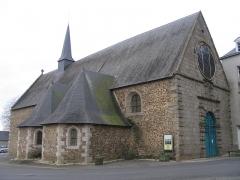 Chapelle des Calvairiennes - Français:   La chapelle des Calvairiennes, à Mayenne, Mayenne, France.