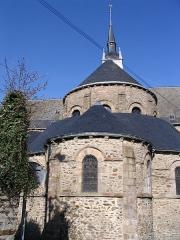 Eglise Saint-Martin - English: St.Martin's church, in Mayenne, Mayenne, France.