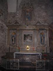 Eglise Saint-Martin - English: A chapel in the churche Saint-Martin of Mayenne, Mayenne, France.