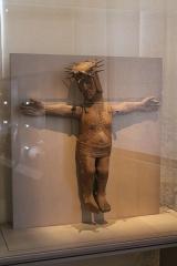 Chapelle Saint-Léonard (anciennement nommée Ferme Saint-Léonard) -  Pièce exposée au musée de Mayenne.