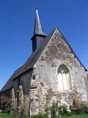 Chapelle Saint-Martin de Villenglose - English: St. Martin de Villenglose's church, in Saint-Denis-d'Anjou, Mayenne, France.