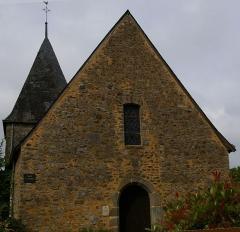 Eglise Saint-Pierre -  Eglise Saint-Pierre de Saulges (Mayenne)