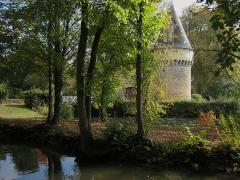 Château de Bazouges -  Castle of Bazouges, located in the village of Bazouges-sur-le-Loir in the county of Sarthe/France.