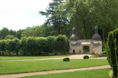Château de Courtanvaux - Français:   L\'entrée du château de Courtanvaux à Bessé-sur-Braye, Sarthe, France