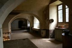 Château de Courtanvaux - Français:   La cuisine du château de Courtanvaux à Bessé-sur-Braye, Sarthe, France