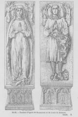 Chapelle d'Etival - Čeština: Anežka z Beaumontu a Ludvík z Brienne