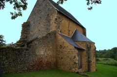 Chapelle d'Etival -  Chapelle de l'ancien,ne abbaye d'Etival-en-Charnie (Sarthe)