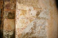 Chapelle d'Etival -  Peintures murales, chapelle d'Etival-en-Charnie (Sarthe)