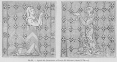 Chapelle d'Etival - Čeština: Ludvík z Brienne s chotí Anežkou