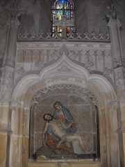 Eglise Notre-Dame - English: A chapel of Notre-Dame's church, in Mamers, Sarthe, France.