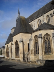 Eglise Notre-Dame - English: Notre-Dame's church, in Mamers, Sarthe, France.