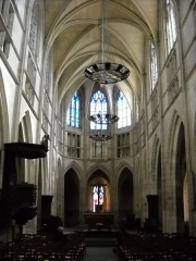 Eglise Notre-Dame - English: The nave of Notre-Dame's church, in Mamers, Sarthe, France.