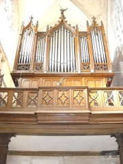 Eglise Notre-Dame - English: The organ of Notre-Dame's church, in Mamers, Sarthe, France.