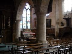 Eglise Saint-Nicolas - English: Inside St.Nicholas church, in Mamers, Sarthe, France.