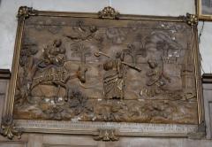 Eglise Saint-Nicolas - English: The flight into Egypt, inside St.Nicholas church, in Mamers, Sarthe, France.