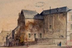Château des Comtes du Maine - French painter