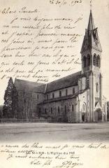 Eglise Notre-Dame-du-Pré - Carte postale ancienne Le Mans - Église Notre-Dame-du-Pré