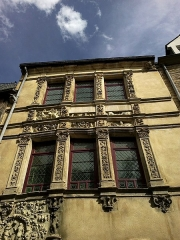 Maison dite d'Adam et Eve -  Sarthe Le Mans Grande Rue Maison D'Adam Et Eve 17052012