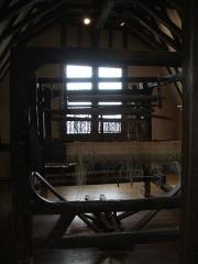 Maison de la Reine-Bérangère - Une machine de tissage de chanvre Sarthoise, visible au musée de la Reine Bérengère au Mans.