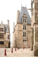 Sol de maison à maison -  Maison canoniale Saint Paul au Mans