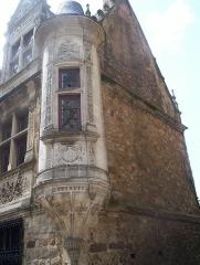 Sol de maison à maison -  Exemple d'architecture de la cité Plantagenêt XVe XVIe siècle