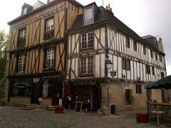 Sol de maison à maison -  Sarthe Le Mans Grande Rue Maison Du Pilier-Vert 17052012