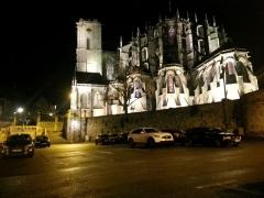 Sol de maison à maison -  Cathédrale du Mans