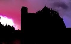 Sol de maison à maison - Nuit d'orage au Mans
