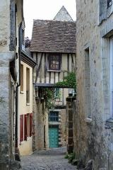 Sol de maison à maison - Nederlands: Le Mans (Frankrijk): de rue Saint-Pavin-de-la-Cité