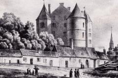 Château - Châteaux du Maine. France XVIIe