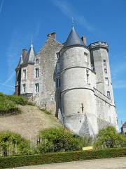 Château - Français:   Montmirail, Sarthe, Fr, château