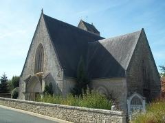 Abbaye de Perseigne - Eglise de la commune de Neuchatel-en-Saosnois - Sarthe - France