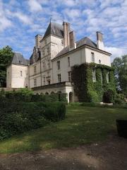 Château de Poncé - Français:   Vue sur la façade nord du château.