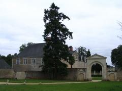 Abbaye des Prémontrés  , actuellement château du Perray-Neuf - English: Perray castle, in Précigné, Sarthe, France.