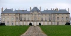 Château de Sourches - English: The castle of Sourches in Saint-Symphorien in the French department of Sarthe and successive property of the family Bouchet de Sourches then Pérusse des Cars.