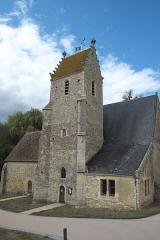 Eglise - Deutsch: Kirche Saint-Germain in Sceaux-sur-Huisne im Département Sarthe (Pays de la Loire/Frankreich)