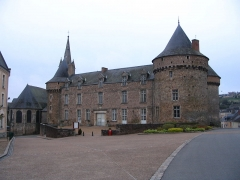 Château - English: The castle of Sillé-le-Guillaume, Sarthe, France.