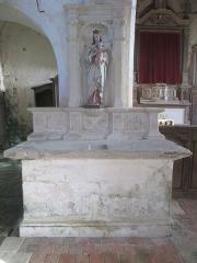 Eglise - Français:   Église Saint-Jean-Baptiste de Vezot
