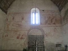 Eglise - Français:   Peintures murales de l\'église Saint-Jean-Baptiste de Vezot