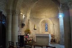 Eglise - Français:   L'absidiole nord de l'église Notre-Dame-des-Anges d'Angles.