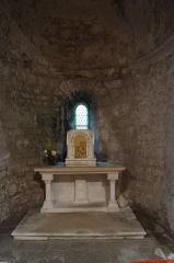 Eglise - Français:   L'absidiole sud de l'église Notre-Dame-des-Anges d'Angles.