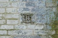 Eglise - Deutsch:   Katholische Kirche Notre-Dame-des-Anges in Angles im Département Vendée (Pays de la Loire/Frankreich), Rosette