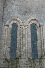 Eglise - Deutsch:   Katholische Kirche Notre-Dame-des-Anges in Angles im Département Vendée (Pays de la Loire/Frankreich), Fenster